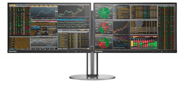 A Bloomberg Terminal